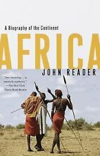 Africa : A Biography of the Continent by John Reader (1999, Paperback)