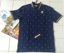 One Piece Monkey D Luffy Authentic Pirates POLO SHIRT XL (HAT) Japanese Animate