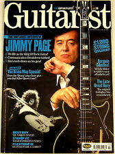 GUITARIST MAGAZINE July 2003 Jimmy Page Gibson VOX Brian May Deacy Carl Martin