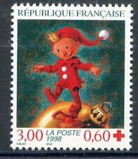 STAMP / TIMBRE FRANCE NEUF N° 3199 ** CROIX ROUGE FETES DE FIN D'ANNEE