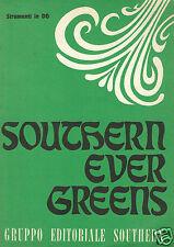 Southern Ever Greens Strumenti in DO Spartito Musicale.