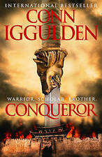 Conqueror, By Conn Iggulden,in Used but Acceptable condition