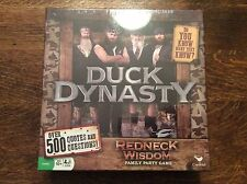 Duck Dynasty Trivia Board Game Redneck Wisdom Family Party Game New!!!