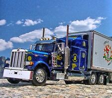 LAST DCP - BLINSKY TRUCKING -  Peterbilt 379 w/ 53' Reefer - BLUE - 31614