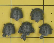 Warhammer 40K SM Dark Angels Deathwing Command Terminator Shoulder Pads (B)