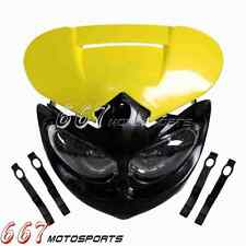 Supermoto Supercross Dirt Bike Headlight Fairing Kit For Suzuki DR650SE RN-Z450