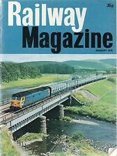 The Railway Magazine : January 1976 published by IPC Transport Press