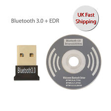 Adaptador USB 3.0 Dongle Bluetooth + EDR CSR para todos los Windows Mac Book PC Laptop