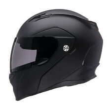 Bell Revolver EVO Modular Flip Up Street Helmet Solid Matte Black Medium MD M