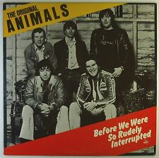 "12"" LP - The Original Animals - Before We Were So Rudely Interrupted - L5643h"