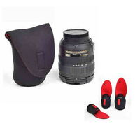 New Neoprene DSLR SLR Lens Pouch Case Bag XL