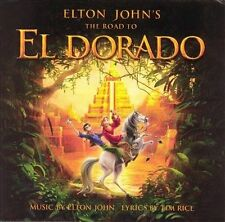 ELTON JOHN'S - The Road to El Dorado (Original Soundtrack) Cassette NEW SEALED
