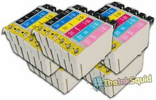 30 T0791-T0796 'Owl' Ink Cartridges Compatible Non-OEM with Epson Stylus PX710W