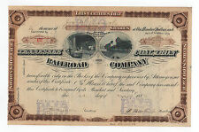 1886 Tennessee Coal, Iron and Railroad Company Stock Certificate