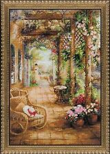 RIOLIS 14 Count A Secret Romance Counted Cross Stitch Kit, 15.75 x 23.5""