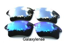 Galassia Lenti Di Ricambio Per Oakley Fast giacca XL blu & titanio Polarizzati