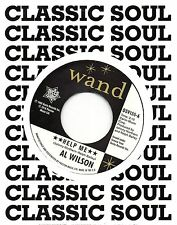 AL WILSON    HELP ME (vocal) / Instrumental   UK WAND/OUTTASIGHT  NORTHERN