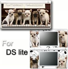 Dog Cute puppy VINYL SKIN DECAL STICKER For DS LITE #1