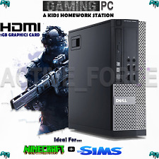 ULTRA FAST CORE i5 Desktop Gaming PC  8GB 1TB HDD WIN 7 WiFi 2GB GRAPHIC CARD