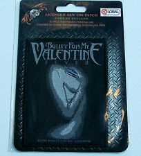 GENUINE BULLET FOR MY VALENTINE EMBROIDERED JACKET PATCH METAL BAND SEW-ON BADGE