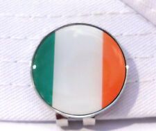 Irish Flag Golf Ball Marker w/Magnetic Hat Clip