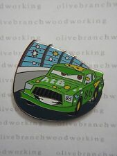 2009 Disney Pixar Cars CHICK HICKS RACING On Race Car Track Starter Set Pin