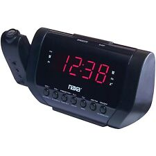 NAXA Electronics NRC-173 Projection Dual Alarm Clock