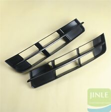 Pair Of Front Bumper Turn Signal Lower Grill Grille For AUDI Q7 4L 2010-2015 New