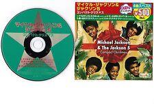 MICHAEL JACKSON &THE JACKSON 5 Compact Christmas JAPAN 4-track CD UICY-50007