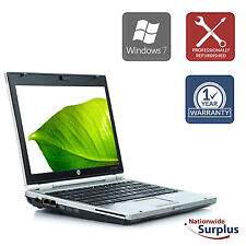 HP EliteBook 2560P Laptop  i5-2520 4GB 160GB Win 7 Pro 1 Yr Wty B v.AAW