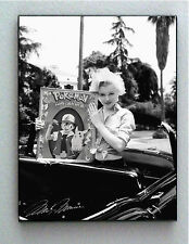 Framed Marilyn Monroe holding Pokemon with faux signed autograph Limited Edition