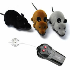 Remote Control RC Rat Mouse Wireless For Cat Dog Pet Funny Toy Novelty Gift KY