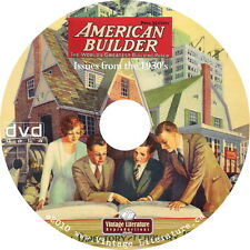 American Home Builder Magazine - 1930's { Full Color House Designs } on DVD