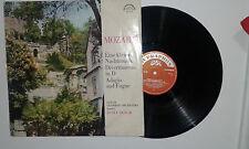 Mozart–Eine Kleine Nachtmusik-Divermento In D-Adagio-Disco Vinile 33 Giri LP