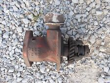 Allis Chalmers WD 45 tractor engine motor distributor drive assembly drive gear