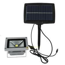 10W Solar Power LED Flood Spot Light Garden Spotlight Waterproof Lamp Landscape