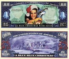 A Blue Christmas with Elvis Million Dollar Novelty Money