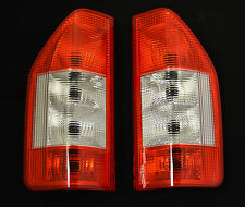 REAR TAIL LIGHTS LAMPS LENS PAIR SET FOR MERCEDES BENZ SPRINTER W901 2000-2006
