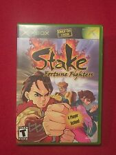 Original XBox Video Game Stake Fortune Fighters Rated M Only on XBox