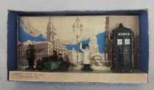 Boxed Pre-War Dinky Toys No.42 Police Hut, Motorcycle Patrol & Policemen 1935-40