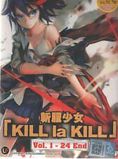 DVD Kill La Kill Vol 1 - 24 + Free 1 AnimeDVD