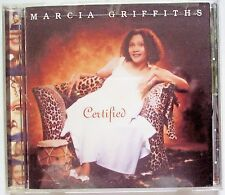 1999 CERTIFIED by MARCIA GRIFFITHS DANCEHALL REGGAE DEBUT 16 TRACK CD