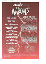 WARCHILD #3 Image Comics glossy printer's proof *
