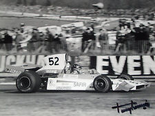 Tony Trimmer SIGNED F1 Safir-Cosworth RJ02 , Race of Champions Brands Hatch 1975