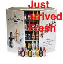 Anthon Berg 64pc. Liquor Filled Dark Chocolate Remi Martin Jim Beam Vodka GIFT