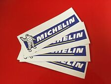 MICHELIN Racing Car Track Drift Superbike Race Bike Stickers 150mm x 4