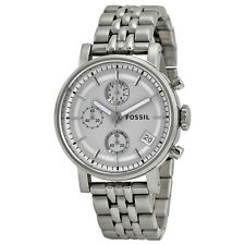 Fossil Boyfriend Chronograph Stainless Steel Ladies Watch ES2198