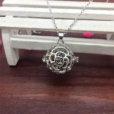 New Perfume Fragrance Essential Oil Aromatherapy Diffuser Locket Necklace DL120