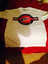 NHL Carolina Hurricanes T-Shirt Stanley Cup 2013-2014 Coors Light Large L White