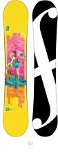 FORUM SNOWBOARD 2014 womens THE SPINSTER 151 snowboard ~BRAND NEW IN BAGGY~!!